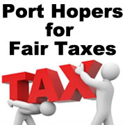 Port Hopers for Fair Taxes