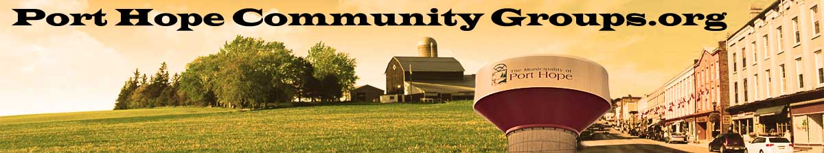 Port Hope Community Groups logo