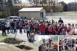 George Hamilton School Welcome Ontario GRCA tree planting
