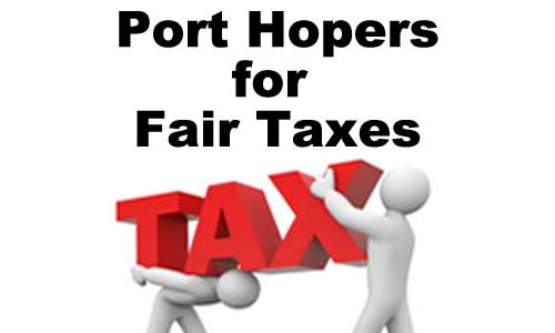 Port Hopers for Fair Taxes - Port Hope Ontario area rating taxation