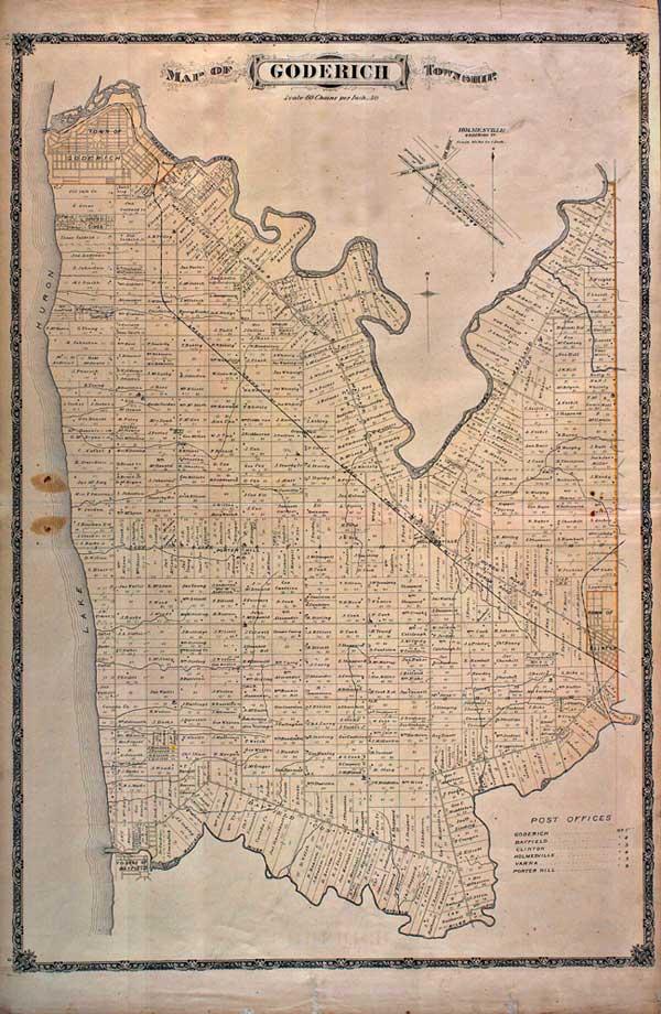 Goderich Township map